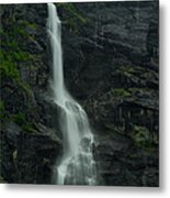 Rauma County Waterfall Metal Print