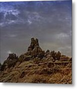 Ravages Of Time And Weather Metal Print