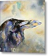 Raven I Metal Print