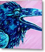 Raven Song Metal Print