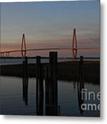Ravenel From The Dock Metal Print