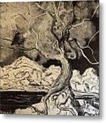 Ravenlight Tree Metal Print