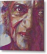 Ravi Shankar- Rabinda Shankar Chowdhury Metal Print