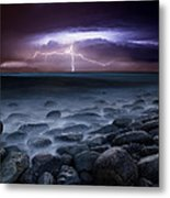 Raw Power Metal Print