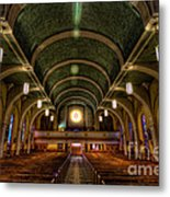 Ray Alone Metal Print
