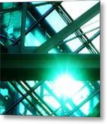 Rays And Beams Metal Print