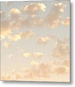 Rays Through The Clouds Metal Print
