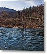 The Dam At Raystown Lake Metal Print