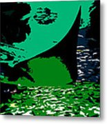 The Great Ray Metal Print