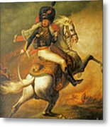 Re Classic Oil Painting General On Canvas#16-2-5-08 Metal Print