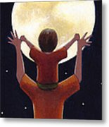 Reach The Moon Metal Print by Christy Beckwith