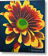 Reaching Bloom Metal Print