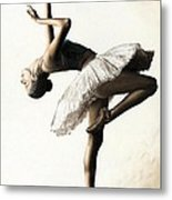 Reaching For Perfect Grace Metal Print by Richard Young