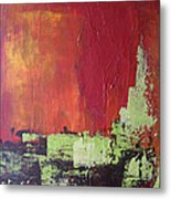 Reaching Up, Abstract  Metal Print