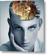 Reading And Memory Metal Print
