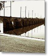 Cumberland Valley Railroad Bridge Metal Print