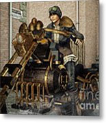 Ready For A Ride Metal Print