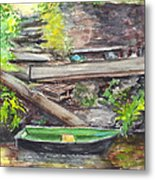 Ready For A Row Metal Print