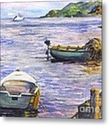 Ready For A Sunset Row Metal Print