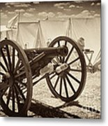 Ready For Battle At Gettysburg Metal Print