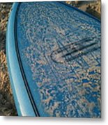 Ready For Waves Metal Print