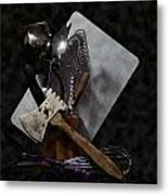 Ready To Cook Metal Print