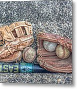 Ready To Play Ball Metal Print by Randy Steele