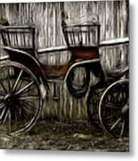 Ready To Ride - Featured In Both Groups Spectacular Artworks Of Faa And Cards For All Occ  Metal Print