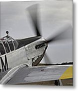 Ready To Taxie Metal Print by M K  Miller