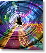 Real City Beat Metal Print