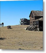 Real Estate On The Open Plain Metal Print