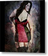 Real Woman Real Curves Metal Print