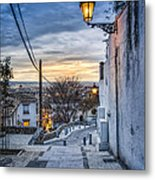 Realejo View During Sunset - Granada Metal Print
