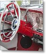 Really Red 1959 Lincoln Interior Metal Print