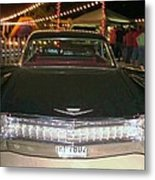 Rear View Black And Chrome Beauty Metal Print by Donna Wilson