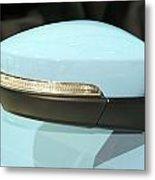 Rear View Mirror Metal Print