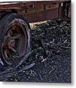 Rear Wheel Drive Metal Print