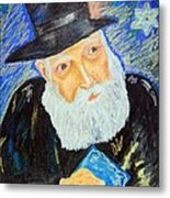 Rebbe's World  Metal Print