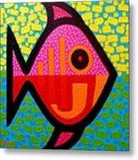 Rebel Fish  II Metal Print by John  Nolan