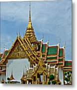 Reception Hall At Grand Palace Of Thailand In Bangkok Metal Print