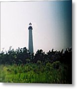 Recesky - Cape May Point Lighthouse 1 Metal Print