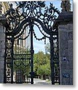 Recidence Garden Gate - Wuerzburg Metal Print