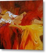 Reclining Beauty 11 Metal Print