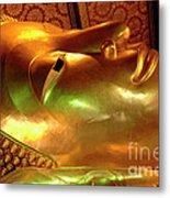 Reclining Buddha 1 Metal Print