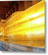 Reclining Buddha, Wat Pho Metal Print