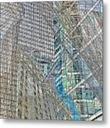 Reconstructing Architecture 9 Metal Print