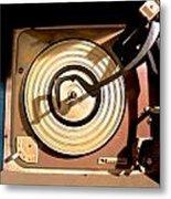 Vinyl Turner Metal Print