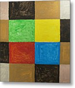 Rectangles Metal Print