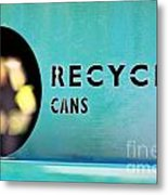 Recycle Cans Metal Print