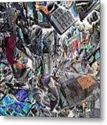 Recycling  5 Metal Print